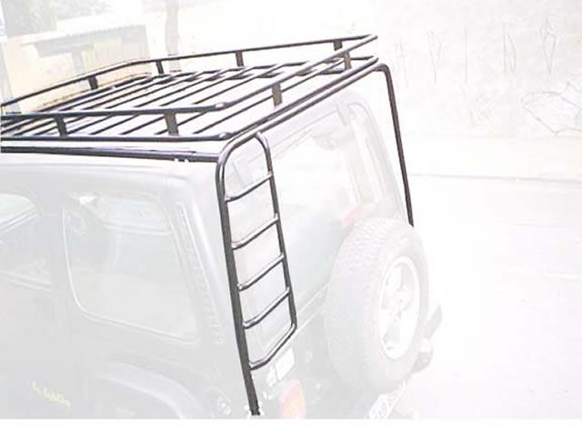 Suporte tubular para bagageiro e bagageiro, escada tubular
