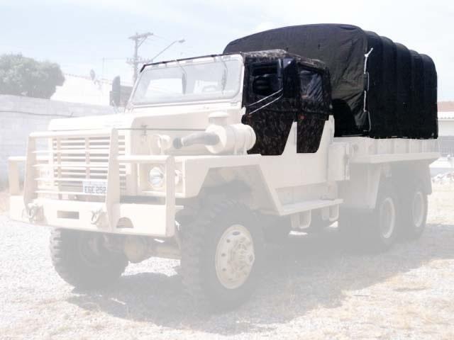 Capota Super Trial (cabine) 4 portas ( camuflado aeronáutico externo e castor escuro interno ) carroceria de lona