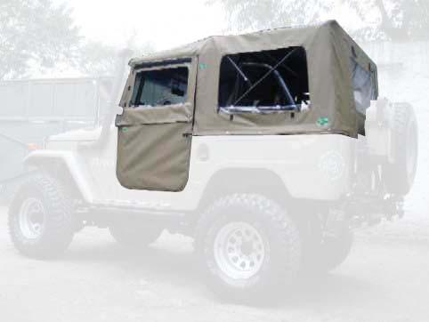 Super Trial Reta 5ª janela ( bege iraque externo e verde militar interno )